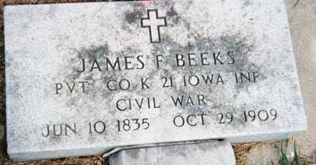BEEKS, JAMES F. - Marshall County, Iowa | JAMES F. BEEKS