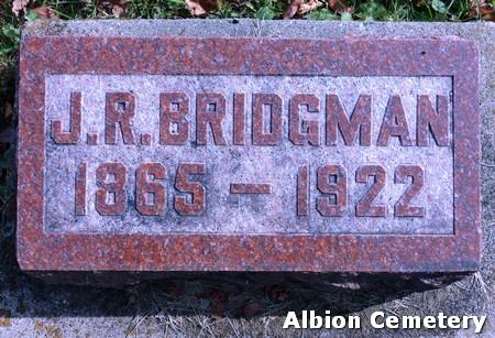 BRIDGMAN, JAMES RILEY - Marshall County, Iowa | JAMES RILEY BRIDGMAN