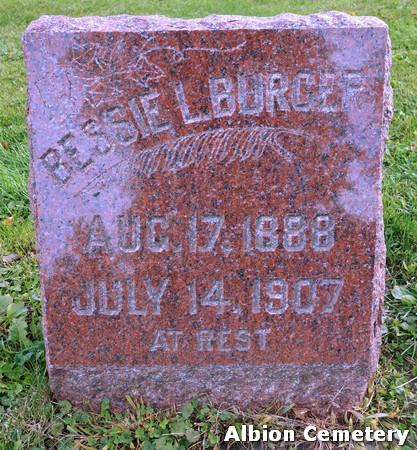 BURGER, BESSIE L. - Marshall County, Iowa | BESSIE L. BURGER