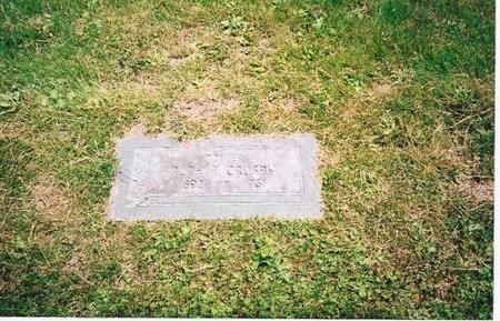 CROSBY, RUTH ANGELINE - Marshall County, Iowa | RUTH ANGELINE CROSBY