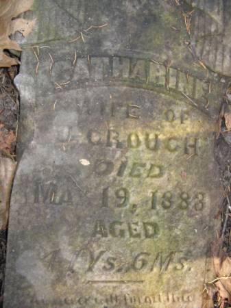 CROUCH, CATHARINE - Marshall County, Iowa | CATHARINE CROUCH