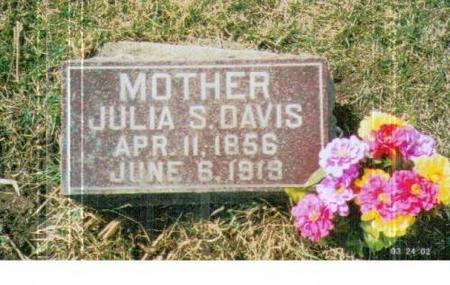 DAVIS, JULIA S. - Marshall County, Iowa | JULIA S. DAVIS