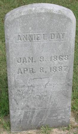 DAY, ANNIE L. - Marshall County, Iowa | ANNIE L. DAY