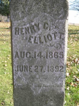 ELLIOTT, HENRY - Marshall County, Iowa   HENRY ELLIOTT