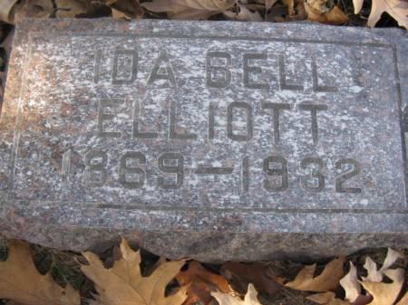 ELLIOTT, IDA BELL - Marshall County, Iowa   IDA BELL ELLIOTT