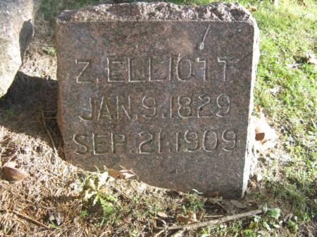 ELLIOTT, Z - Marshall County, Iowa   Z ELLIOTT