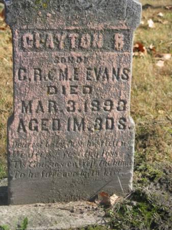 EVANS, CLAYTON - Marshall County, Iowa | CLAYTON EVANS