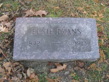 EVANS, ELSIE - Marshall County, Iowa | ELSIE EVANS