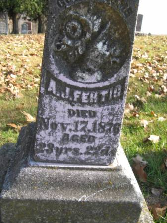 FERTIG, A J - Marshall County, Iowa | A J FERTIG