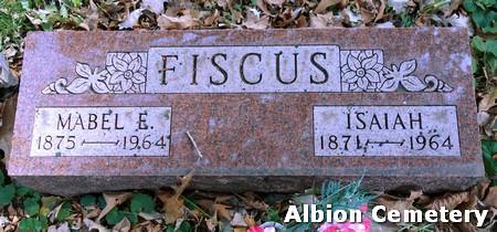 FISCUS, ISAIAH - Marshall County, Iowa | ISAIAH FISCUS