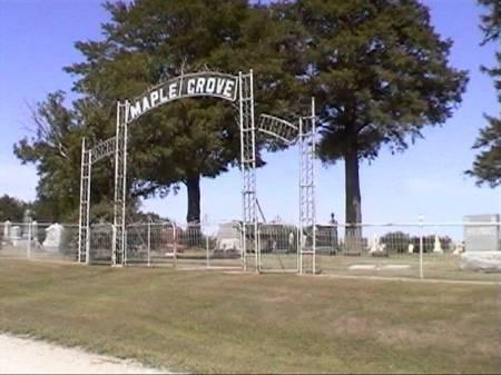 MAPLE GROVE (WICKERSHAM), CEMETERY - Marshall County, Iowa | CEMETERY MAPLE GROVE (WICKERSHAM)
