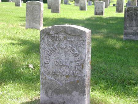 GEORGE, EGBERT - Marshall County, Iowa | EGBERT GEORGE