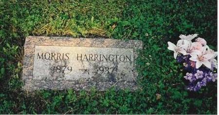 HARRINGTON, MORRIS - Marshall County, Iowa | MORRIS HARRINGTON