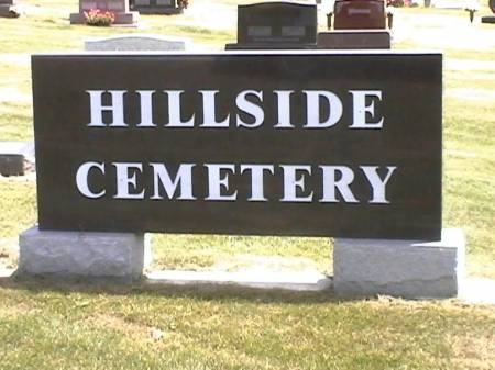 HILLSIDE, CEMETERY - Marshall County, Iowa | CEMETERY HILLSIDE