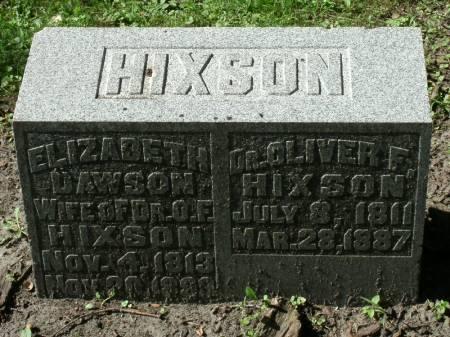 DAWSON HIXSON, ELIZABETH - Marshall County, Iowa | ELIZABETH DAWSON HIXSON