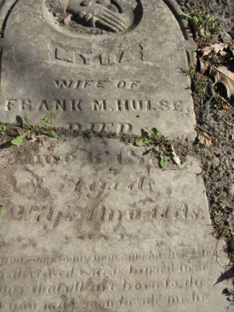 HULSE, MYRA - Marshall County, Iowa   MYRA HULSE