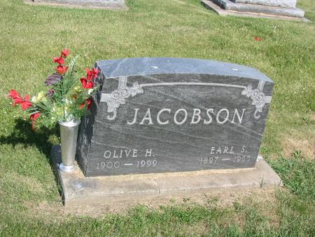 JACOBSON, OLIVE H. - Marshall County, Iowa | OLIVE H. JACOBSON