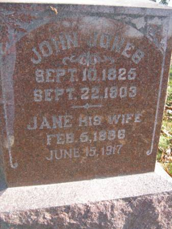 JONES, JANE - Marshall County, Iowa | JANE JONES
