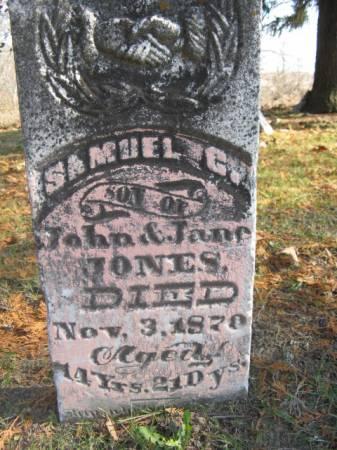 JONES, SAMUEL - Marshall County, Iowa | SAMUEL JONES
