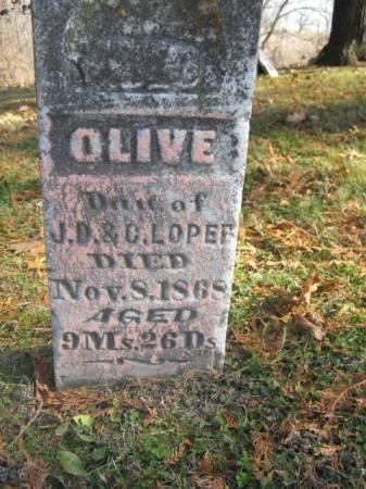 LOPER, OLIVE - Marshall County, Iowa | OLIVE LOPER