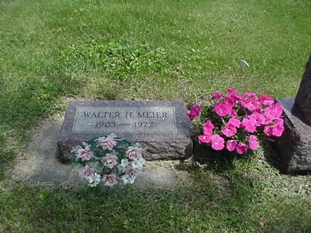 MEIER, WALTER H - Marshall County, Iowa | WALTER H MEIER