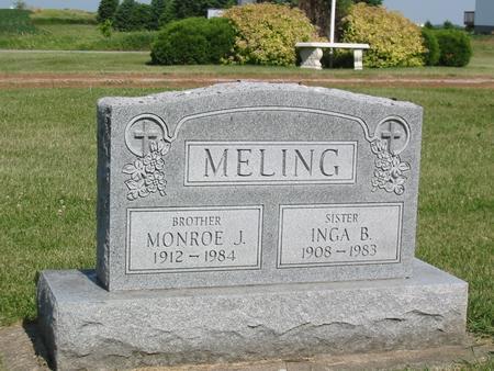 MELING, INGA B. - Marshall County, Iowa | INGA B. MELING