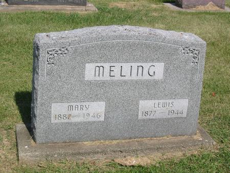 MELING, LEWIS - Marshall County, Iowa | LEWIS MELING