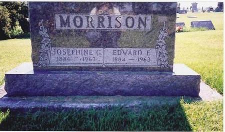 MORRISON, JOSEPHINE C. & EDWARD E. - Marshall County, Iowa | JOSEPHINE C. & EDWARD E. MORRISON