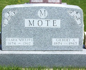 WILLITS MOTE, CLARA - Marshall County, Iowa | CLARA WILLITS MOTE
