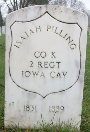 PILLING, ISIAH - Marshall County, Iowa | ISIAH PILLING