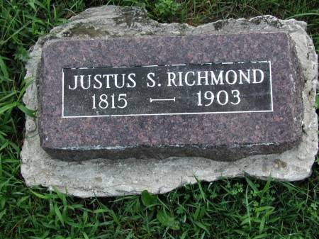 RICHMOND, JUSTUS S. - Marshall County, Iowa | JUSTUS S. RICHMOND
