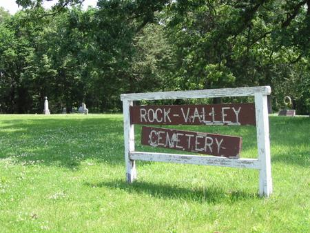 ROCK VALLEY (RALLS), CEMETERY - Marshall County, Iowa | CEMETERY ROCK VALLEY (RALLS)