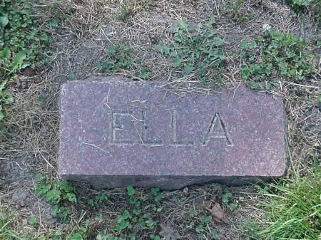 SAINT, ELLA - Marshall County, Iowa | ELLA SAINT