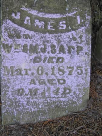 SAPP, JAMES J - Marshall County, Iowa | JAMES J SAPP