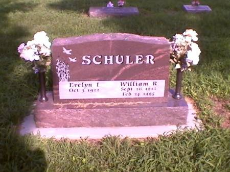 SCHULER, EVELYN I. & WILLIAM R. - Marshall County, Iowa | EVELYN I. & WILLIAM R. SCHULER