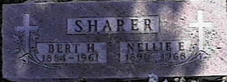 SHARER, NELLIE E. - Marshall County, Iowa | NELLIE E. SHARER