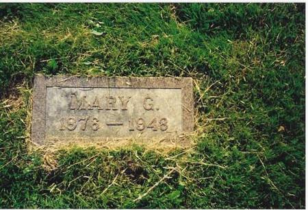 SHERIDAN, MARY G. - Marshall County, Iowa | MARY G. SHERIDAN