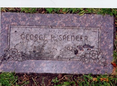 SPENCER, GEORGE H - Marshall County, Iowa | GEORGE H SPENCER