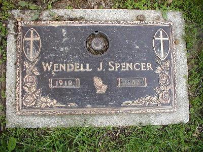 SPENCER, WENDELL - Marshall County, Iowa | WENDELL SPENCER