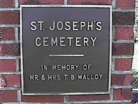 ST. JOSEPH'S, CEMETERY - Marshall County, Iowa | CEMETERY ST. JOSEPH'S