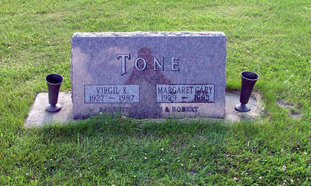 TONE, MARGARET - Marshall County, Iowa | MARGARET TONE