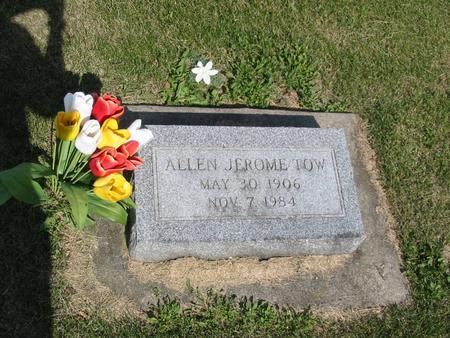 TOW, ALLEN JEROME - Marshall County, Iowa | ALLEN JEROME TOW