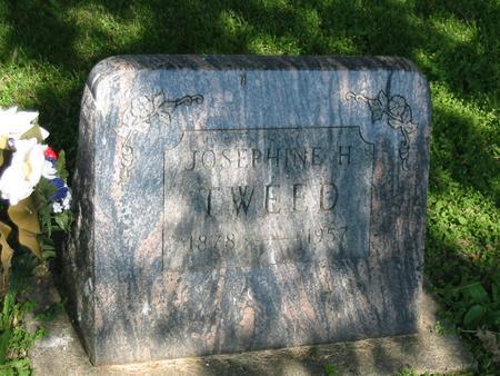 TWEED, JOSEPHINE H. - Marshall County, Iowa | JOSEPHINE H. TWEED