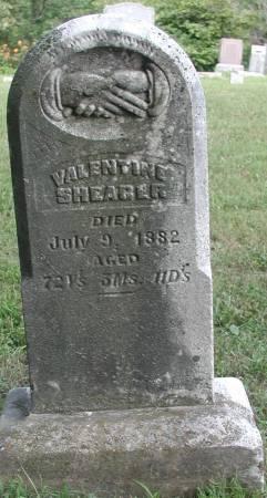 SHEARER, VALENTINE - Marshall County, Iowa | VALENTINE SHEARER