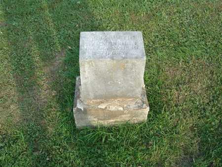 GRONER WICKERSHAM, ELIZABETH - Marshall County, Iowa | ELIZABETH GRONER WICKERSHAM