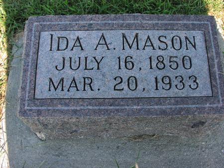 MASON, IDA A. - Mills County, Iowa | IDA A. MASON