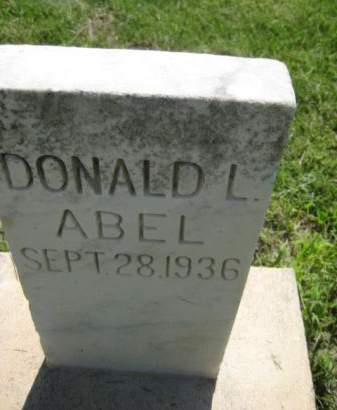 ABEL, DONALD L. - Mills County, Iowa | DONALD L. ABEL