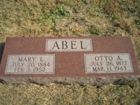 ABEL, MARY L. - Mills County, Iowa   MARY L. ABEL