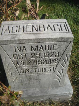 ACHENBACH, IVA MARIE - Mills County, Iowa | IVA MARIE ACHENBACH
