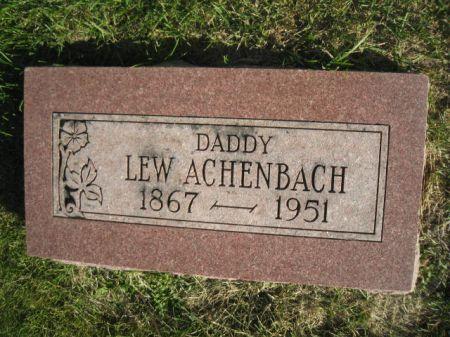 ACHENBACH, J. LEWIS